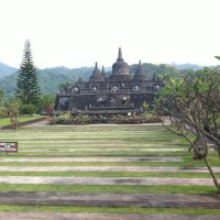 Visit the temples in Bali.