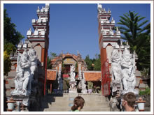 Buddhist monastery Banjar.