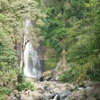 During a walk in Bali you will see beautiful waterfalls.