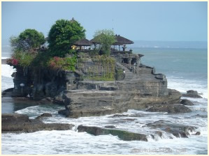 One of the many temples in Bali.