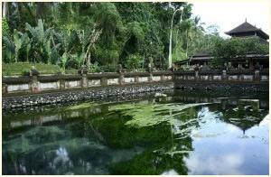 Royal Palace Klungkung Taman Gili in Bali.