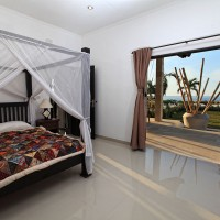 All three bedrooms have access to the terrace.