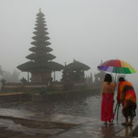 During your stay in Bali visit one of the many temples.