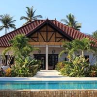 Front view of villa Bima Sena in Bali.